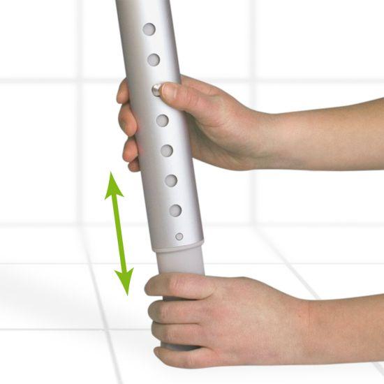 Duschhocker mit integriertem Drehteller