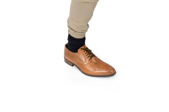 Stringhe elastiche marroni 45 cm