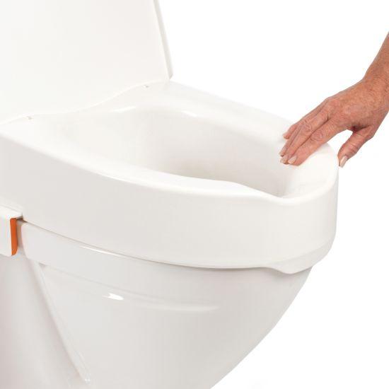 Hausse-WC avec couvercle