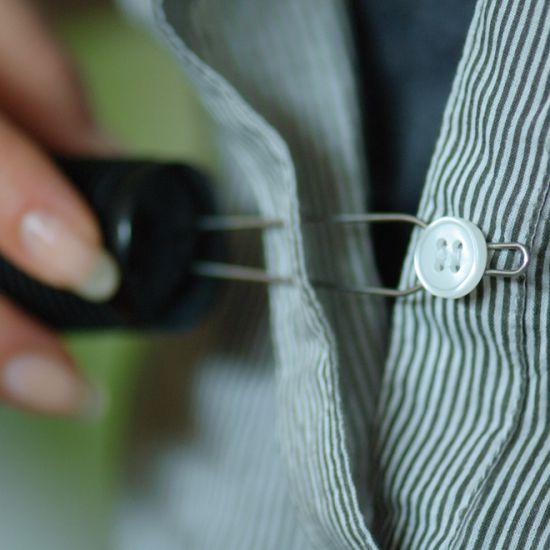 Crochet à bouton