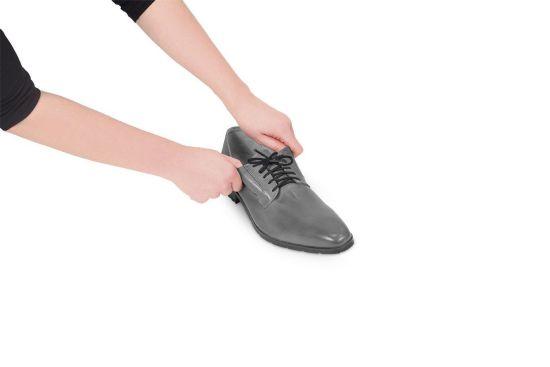 Lacets de souliers élastiques noir 60 cm