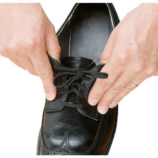 Elastische Schnürsenkel schwarz, 94 cm