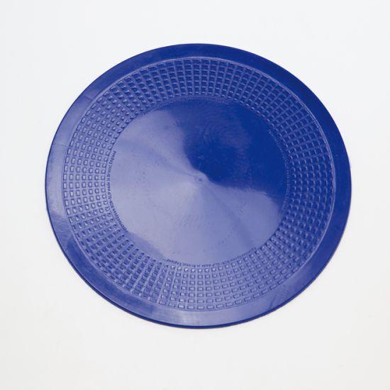 Antirutsch-Matte, blau, rund