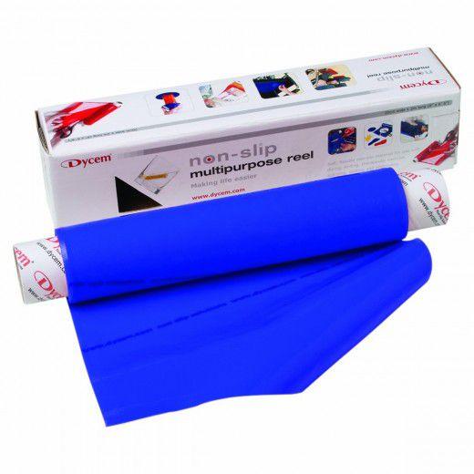 Pellicola antisdrucciolo, blu (rotolo 9m)