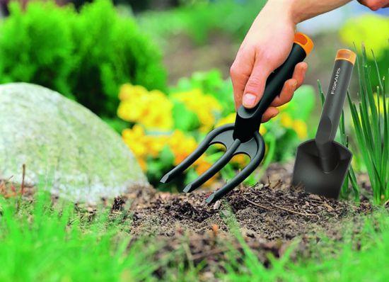Set per piantare (paletta e forca da giardinaggio)