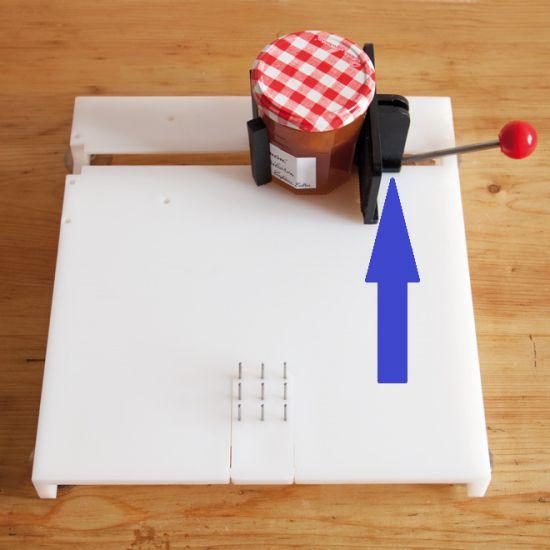 Planche de fixation plaque de serrage de rechange
