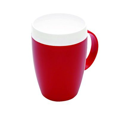 Tasse rouge (incassable)