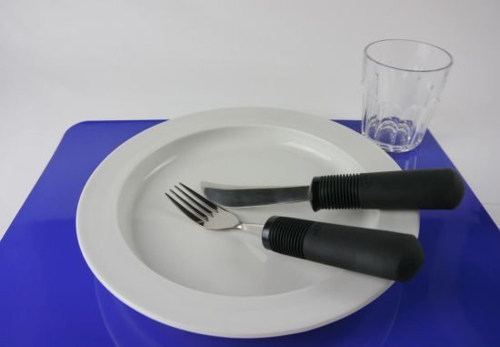 Set de table bleu