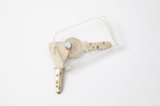 Poignée pour 1-2 clés de sûreté